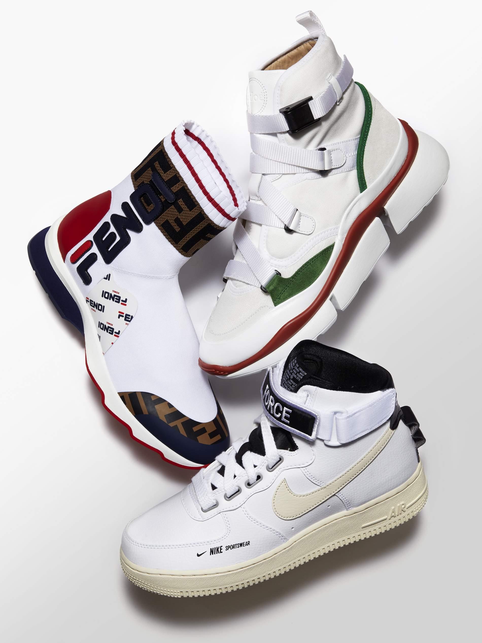 Das Highlight: High-Top-Sneakers | PORTER