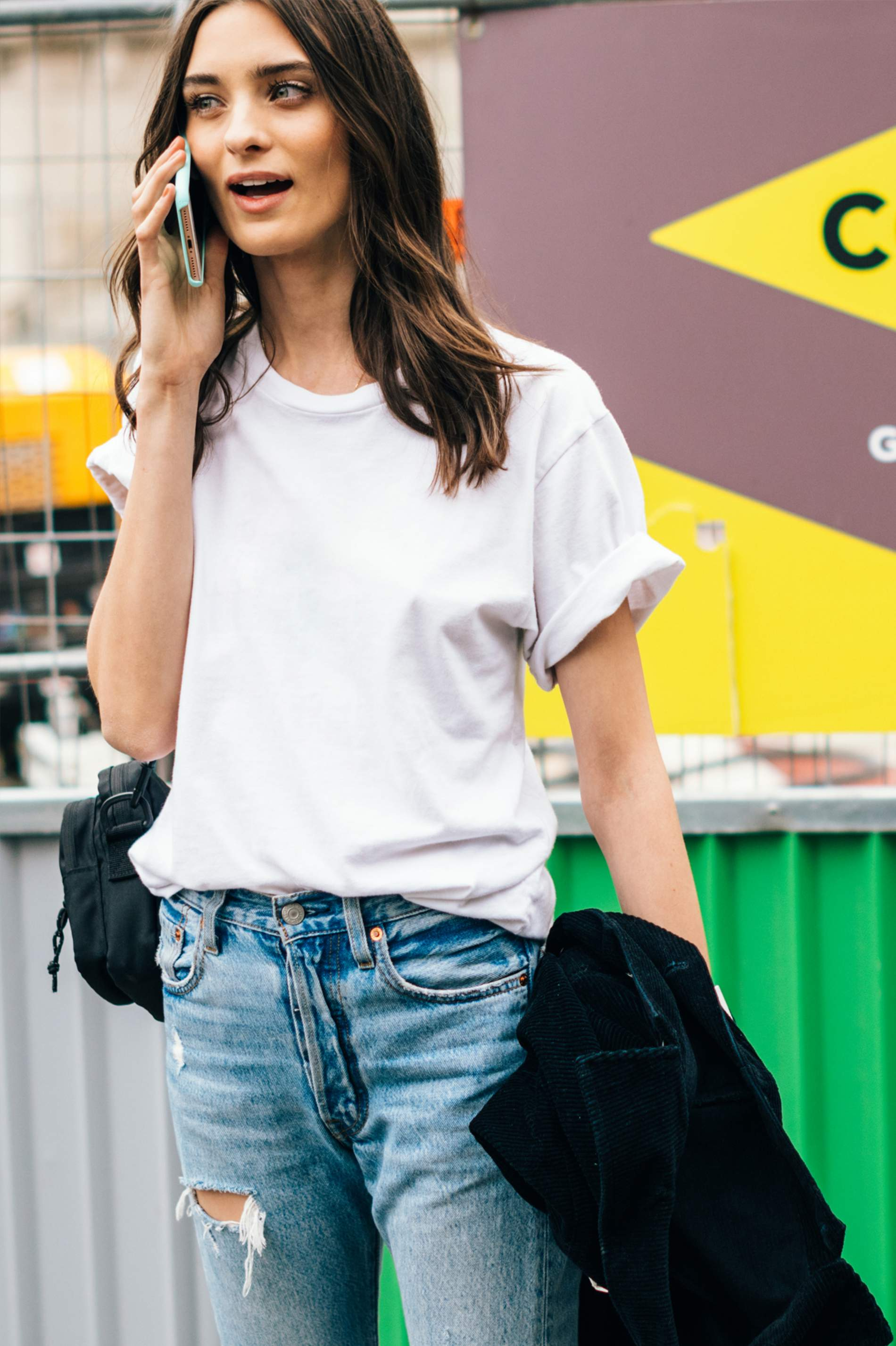 ff8f54c92 How To Wear A White T-Shirt: The Golden Style Rules To Know | PORTER