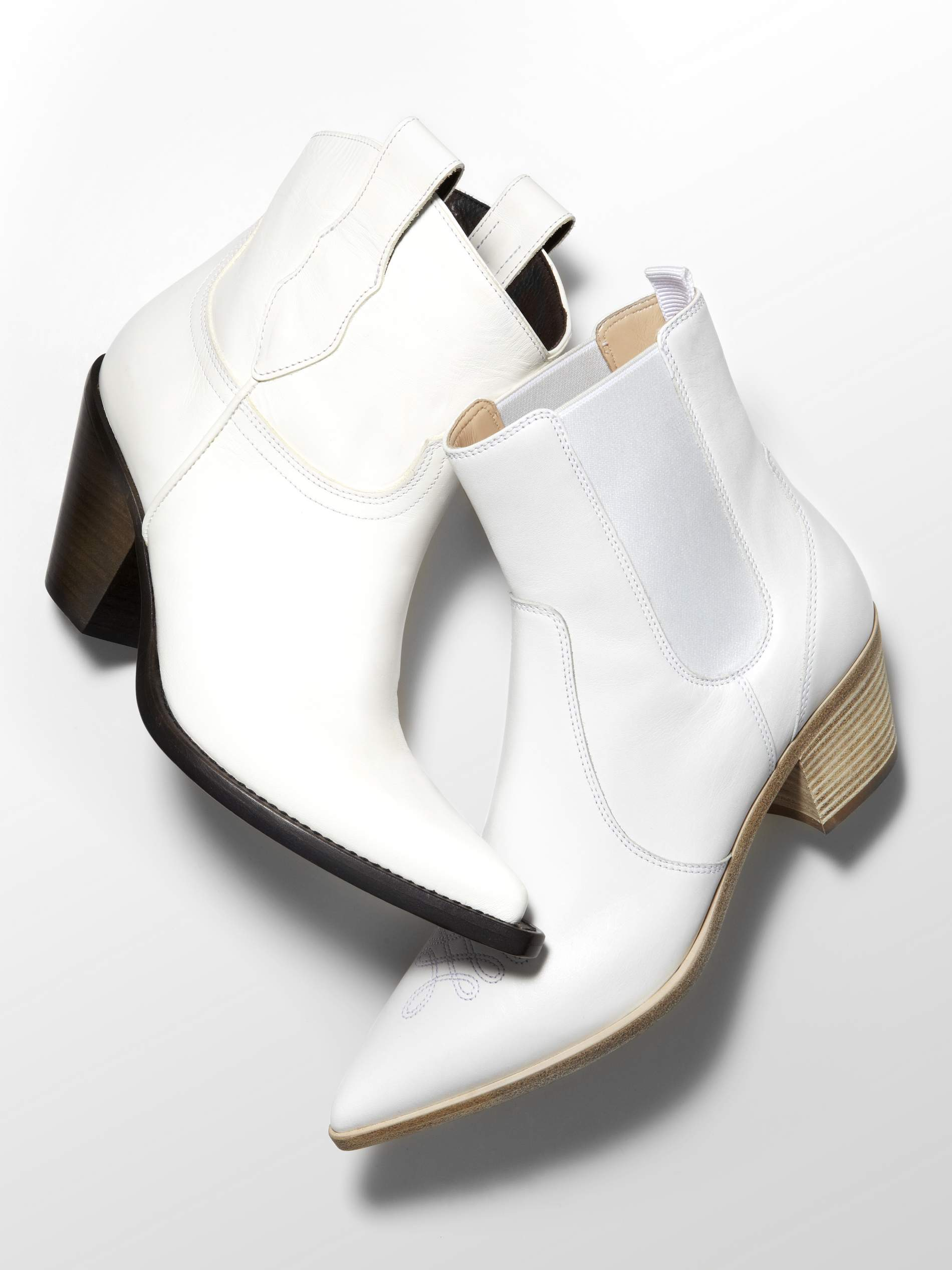 The New Footwear Update  White Cowboy Boots  d6fac465ae98