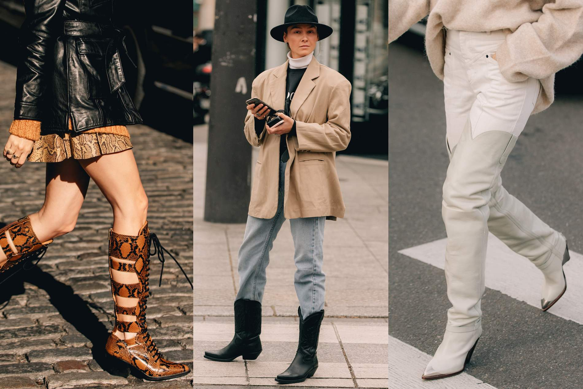 La pièce casual : des bottes western   PORTER