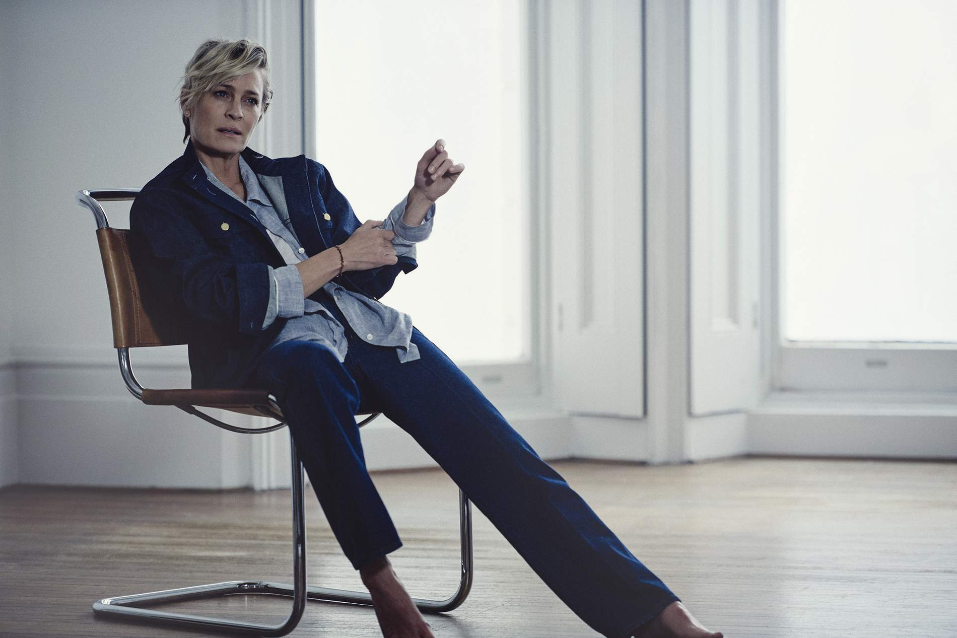 """459de63212809 Newly Married Actress Robin Wright On House Of Cards  """"Operatic ..."""