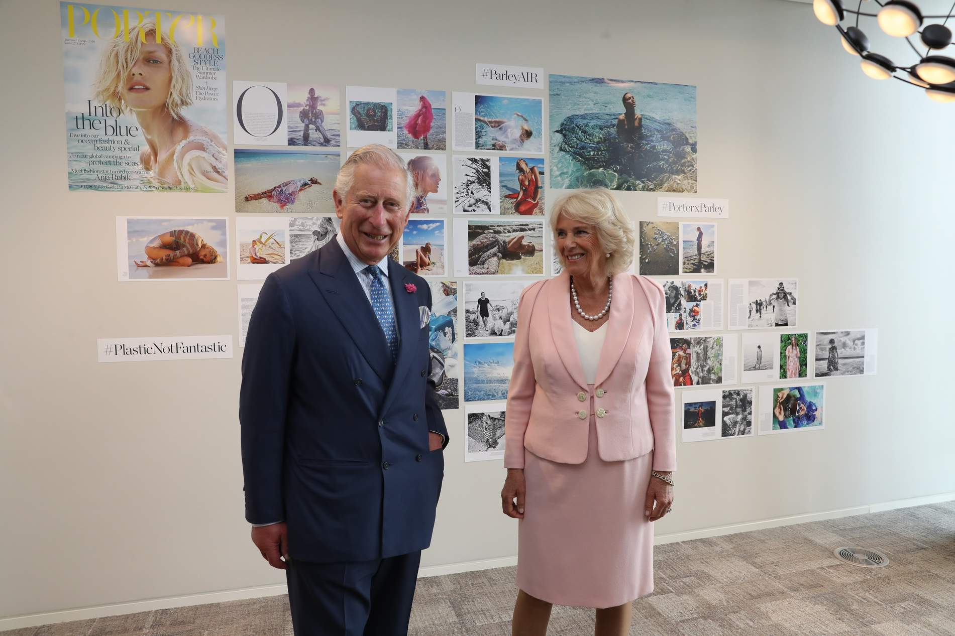 25fc7b32e1ad PORTER s partnership with ocean activists Parley wins Royal approval