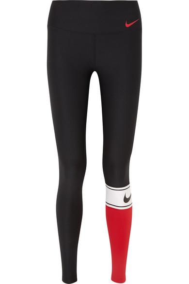 28dda0e91cad7 Nike   Power color-block Dri-FIT stretch leggings   NET-A-PORTER.COM