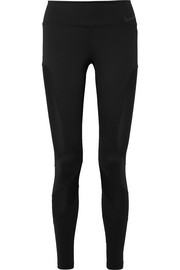 Power mesh-paneled Dri-FIT stretch leggings