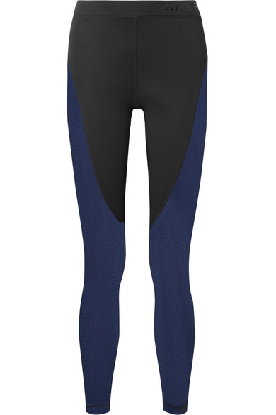 Nike Hypercool Leggings aus Dri-FIT-Stretch-Material mit Mesh-Partien