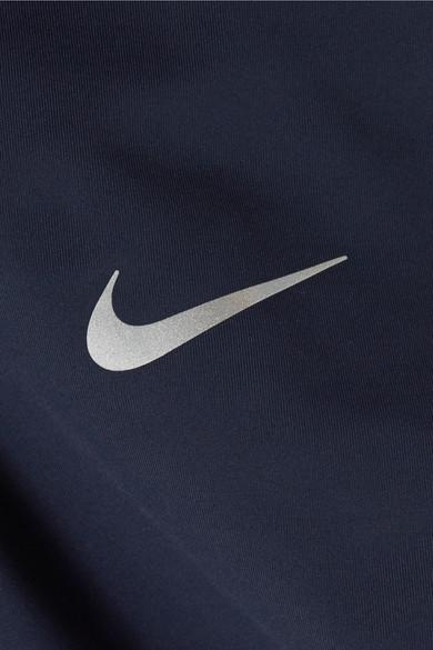 Nike Power Epic Lux Leggings aus Dri-FIT-Stretch-Material mit Mesh-Einsätzen