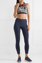 Power Epic Lux mesh-paneled Dri-FIT stretch leggings