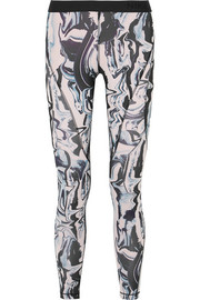 Legging en Dri-FIT stretch et en résille imprimé Hypercool