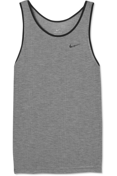 Nike Breathe Tanktop aus geripptem Dri-FIT-Stretch-Material