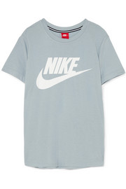 Nike Essentials printed cotton-jersey T-shirt