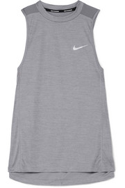 Miler Dri-FIT stretch and mesh tank