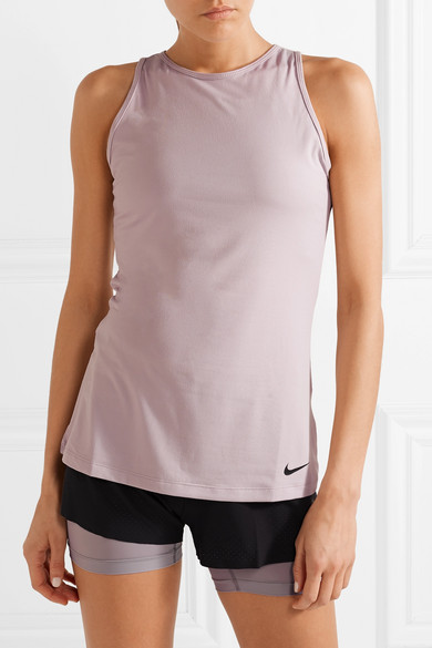 Nike mit Cut FIT aus Dri out Stretch Tanktop Material CqwCYFr