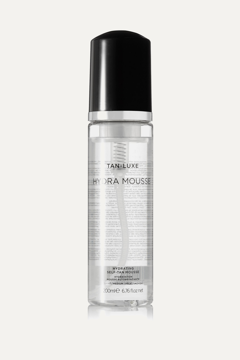 TAN-LUXE Hydra-Mousse Hydrating Self-Tan Mousse - Light/Medium, 200ml
