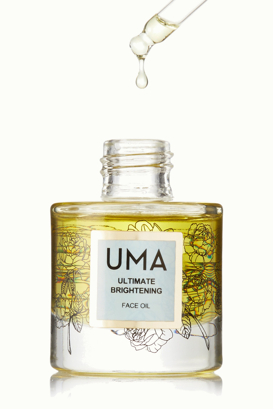 UMA Oils + NET SUSTAIN Ultimate Brightening Face Oil, 30ml