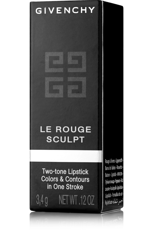Givenchy Beauty Le Rouge Sculpt Two-Tone Lipstick - Sculpt'in Rouge No. 01