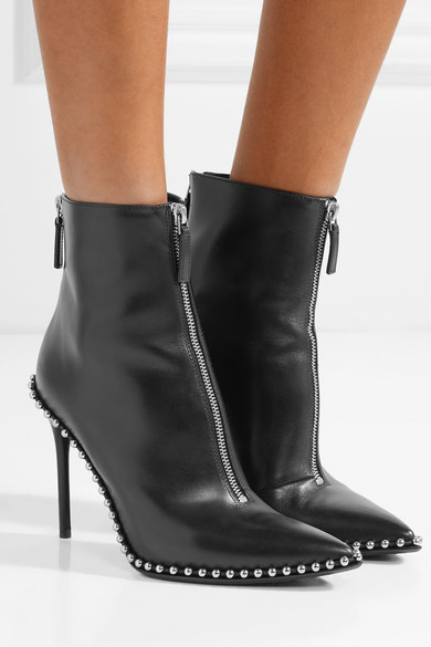 85f3460b2a7 Alexander Wang. Eri studded leather ankle boots