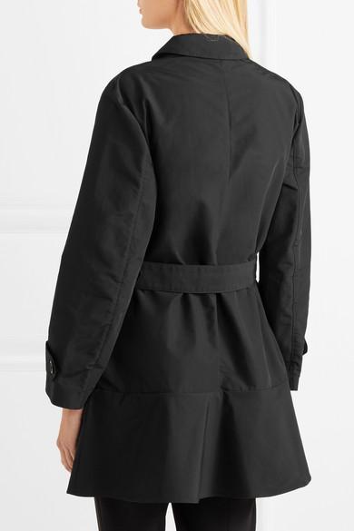 Prada Trenchcoat aus Gabardine aus einer Baumwollmischung