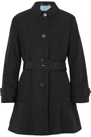 Prada Cotton-blend gabardine trench coat