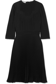 Prada Paneled georgette dress