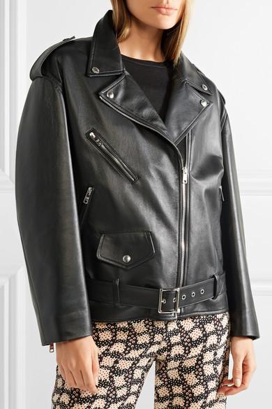 Viele Arten Von Prada Bikerjacke aus Leder Niedriger Preis Versandkosten Für Online Mode-Stil Online-Verkauf Verkauf Websites Rabatt Beste cLnscaJ