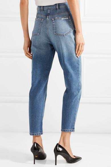 Prada Verkürzte, hoch sitzende Jeans