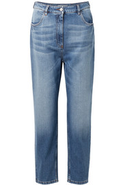 Prada Cropped high-rise jeans