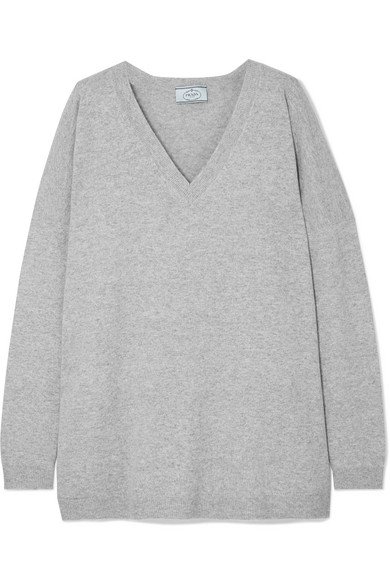 Prada Wollpullover in Oversized-Passform