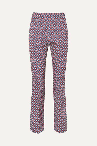 Pantalon Moulant Prada En Sergé Imprimé
