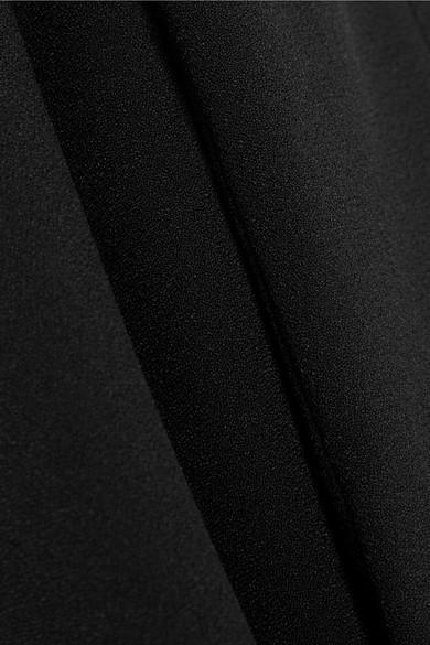 Prada Verkürzte Bootcut-Hose aus Crêpe