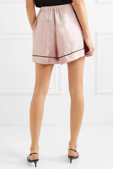 Prada Shorts aus Seiden-Twill