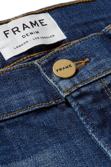 FRAME Le Garcon schmale Boyfriend-Jeans