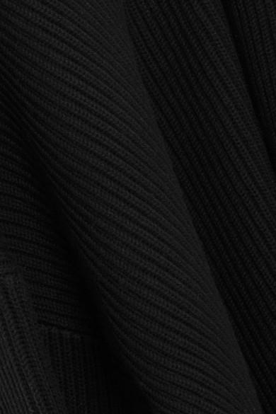 Joseph Gerippter Rollkragenpullover aus einer Woll-Baumwollmischung