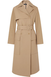 Aquila cotton-gabardine trench coat