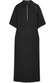 Fletcher crepe midi dress