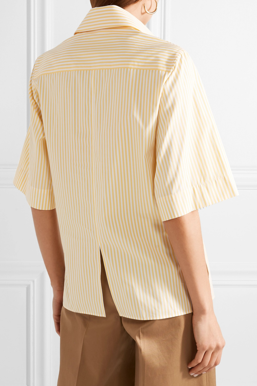 Joseph Griffin striped cotton-poplin shirt