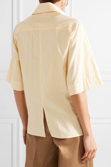 Joseph Griffin Hemd aus gestreifter Baumwollpopeline