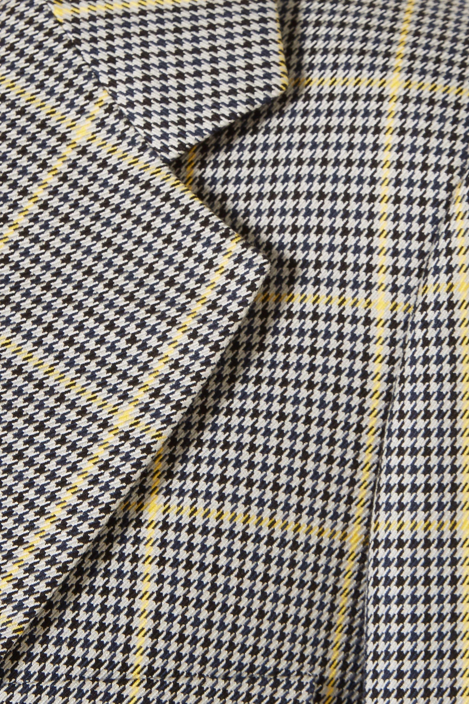 Joseph Grimaud Prince of Wales checked cotton blazer