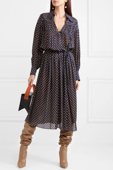 Silk-georgette dress Joseph UGs5OU