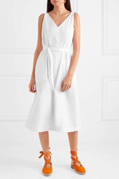 Joseph Davey cotton-poplin midi dress
