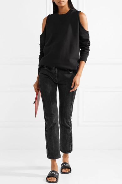 Givenchy Pantoletten aus Gummi mit Logoprint