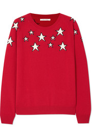 Chinti and Parker Stardust printed cashmere sweater