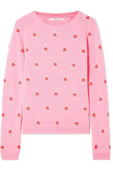 Chinti and Parker Acid Star Kaschmirpullover