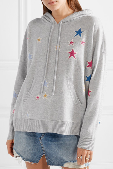 Chinti And Parker Acid Star Hoody From Cashmere