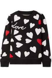 Chinti and Parker Confetti Heart knitted sweater