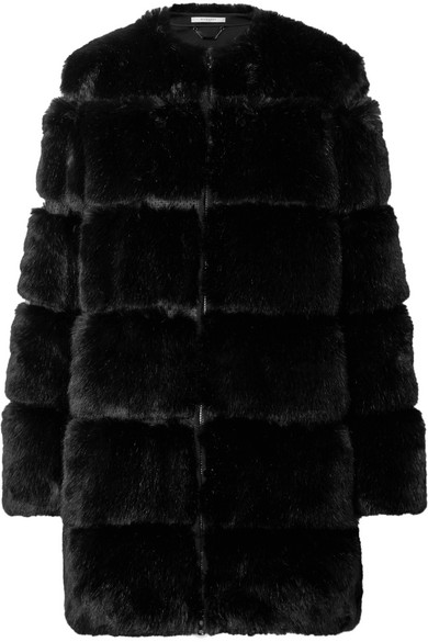 Givenchy Mantel aus Faux Fur