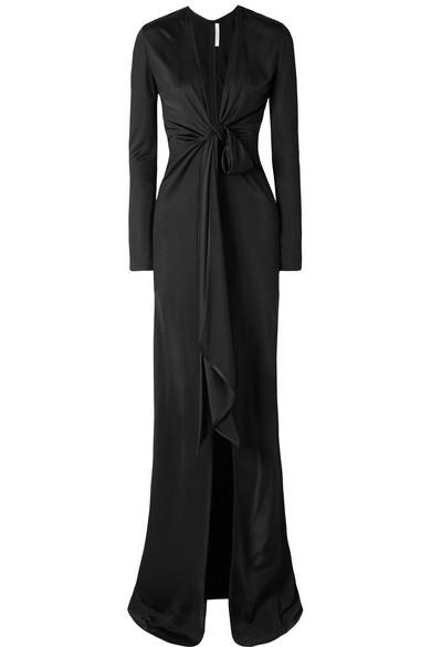Givenchy Robe Made Of Shiny Jersey