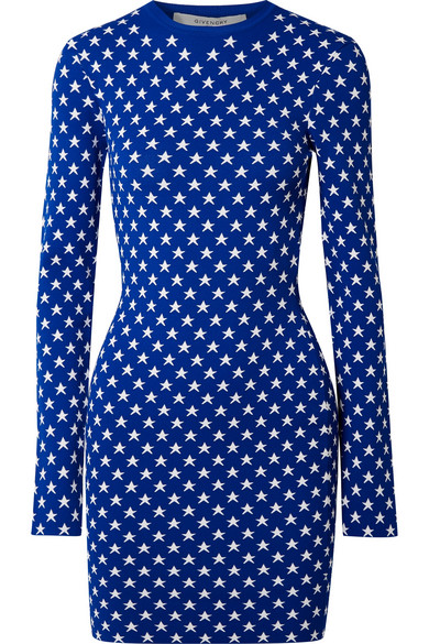 Jacquard Knit Mini Dress by Givenchy