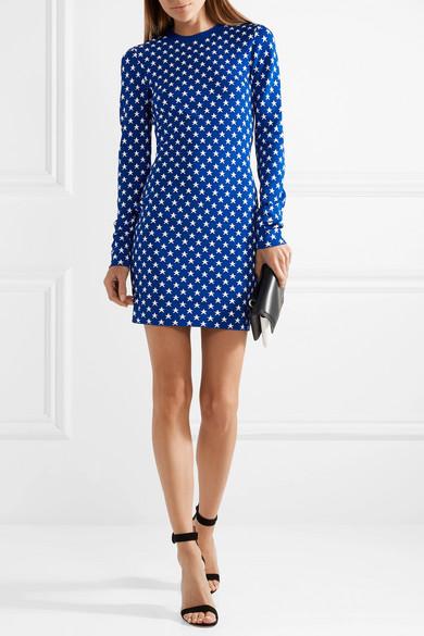Givenchy Minikleid aus Jacquard-Strick
