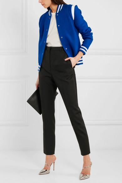 Givenchy Bestickte Bomberjacke aus einer Wollmischung