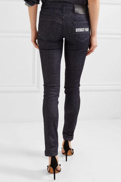 Givenchy Halbhohe Skinny Jeans